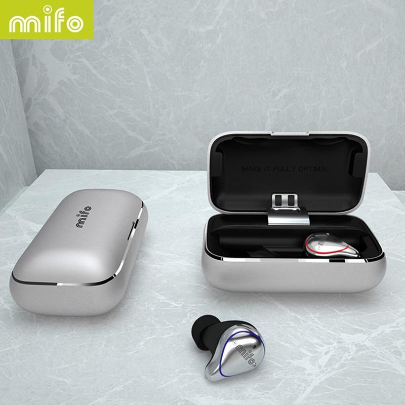 Shipping from Russia Mifo O5 TWS Mini Bluetooth 5.0 Wireless In-Ear Earbuds Waterproof Earhones 3D Stereo Sound Earphones