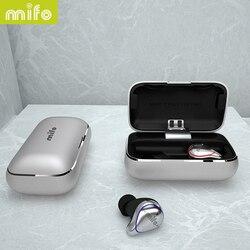 Shipping from Russia Mifo O5 TWS Mini Bluetooth 5.0 Wireless In-Ear Earbuds Waterproof Earhones 3D Stereo Sound наушники