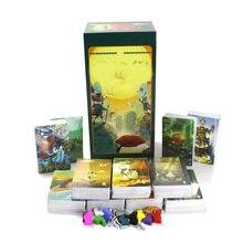 Настольная игра mini tell story card game deck 1 + 2 + 3 + 4 + 5 + 6 + 7 + 8 + 9 + 10 + 11, всего 858 карт, английский, испанский для родителей и детей Вечерние игры
