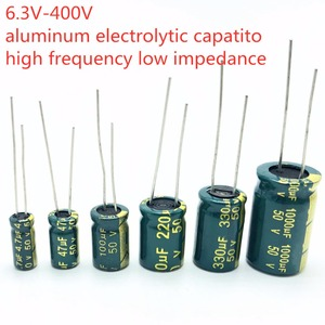 Image 3 - 10PCS high frequency electrolytic capacitor 20% 6.3V 1000UF 10V 1500UF 16V 2200UF 25V 3300UF 35V 50V 400V 4700UF 680UF 35V 1UF