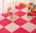 10 шт.  детский пенопластовый коврик из ЭВА для малышей  коврик для ползания  лохматый бархатный коврик для упражнений  игровые коврики