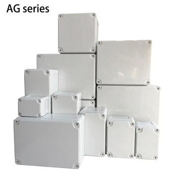 Caja de plástico para instrumentos eléctricos, baúl electrónico de empalmes ABS a prueba de agua IP67, perfecto para herramientas de cableado, compatible para exteriores 2