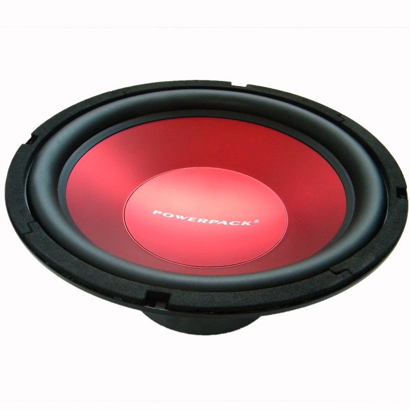 10 inch 255mm Car Subwoofer Powerful 1800 W 4 Ohm Steel Custom Frame Rubber Edge Red Coating Injection Cone Music Player(China)