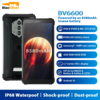 Blackview BV6600 Android 10 Mobile Phone IP68 Waterproof Rugged Smartphone Octa Core 4GB+64GB 8580mAh Cellphone 16MP Rear Camera