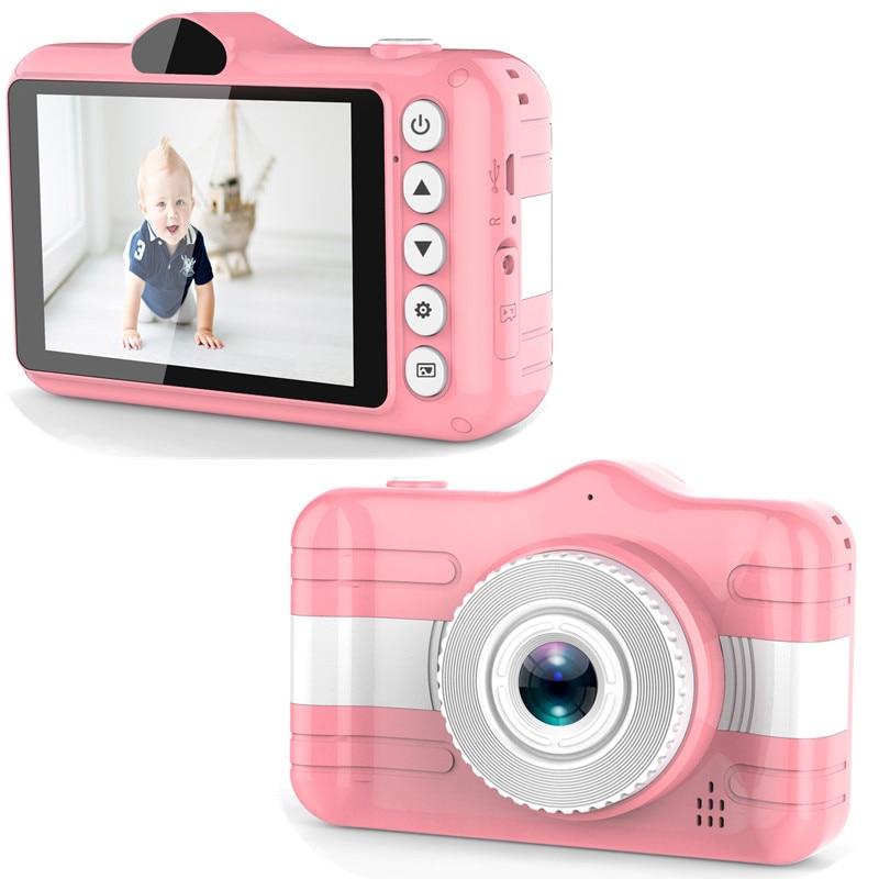 Child Camera Digital Camera 3.5 inch Cute Cartoon Camera Toys Children Birthday Gift 12MP 1080P Photo Video Camera For Kids