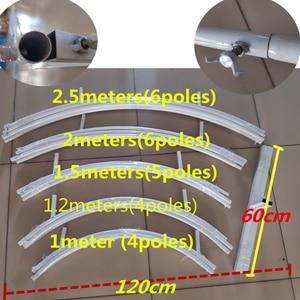 Image 5 - Smeedijzeren Frame Pijler Bruiloft Boog Diy Ronde Party En Frame Venster Party Festival Achtergrond Frame