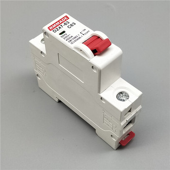 AC220V-400V DZ47 1P 6A/10A/16A/20A/25A/32A/40A/50A/63A Mini Circuit Breaker Cutout Miniature Household Air Switch dz47 63h miniature circuit breakers for household and distribution box and mechanical equipment motor overloa protection