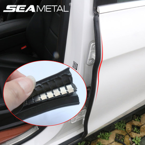 Car Seal Strip Rubber Weatherstrip Car Door Edge Rubber Sealant B Pillar Protection Stickers Noise Insulation Car Sealed strips