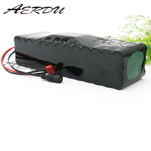 Image 2 - AERDU 13S4P 48V 12.8Ah 1000watt Lithium ion Battery Pack 3200MAH 54.6v E bike Electric bicycle Scooter with 25A discharge BMS