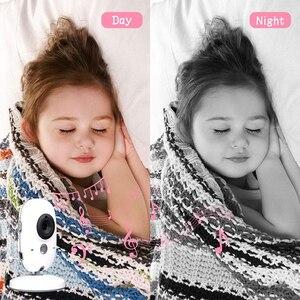 Image 5 - Neng Wireless Video Baby Monitor 4.2 Inch Nanny Camera 2 Way Talk Night Vision IR LED Temperature Monitor Infant Baby Sleep