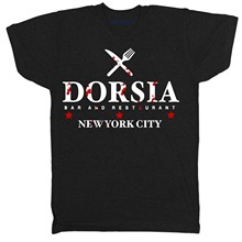 2020 New Fashion Brand Print T-Shirt Brand Dorsia Inspired By American Psycho Movie Film Crime Horror Tv T Shirt Design Template(China)