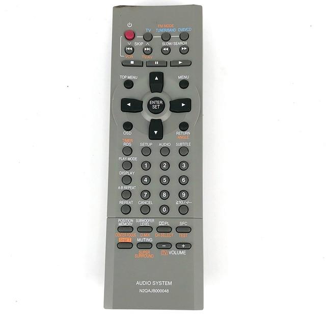 NEW Original Remote Control For Panasonic N2QAJB000048 SA DP1 SC DP1 Micro system with DVD AUDLO SYSTEM Remote Control