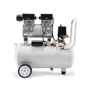 Compressor de ar pequeno portátil silencioso do pistão de 220v 30l 800w sem óleo para a inflação do carro, ferramentas elétricas do uso do dentista com baixo ruidoso