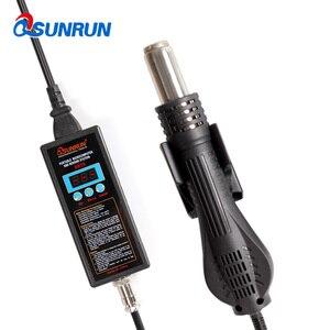 Image 3 - 8858 110V 220V Portable Hot Air Gun BGA Rework Solder Station Hot Air Blower Heat Gun Intelligent Detection LCD Repair
