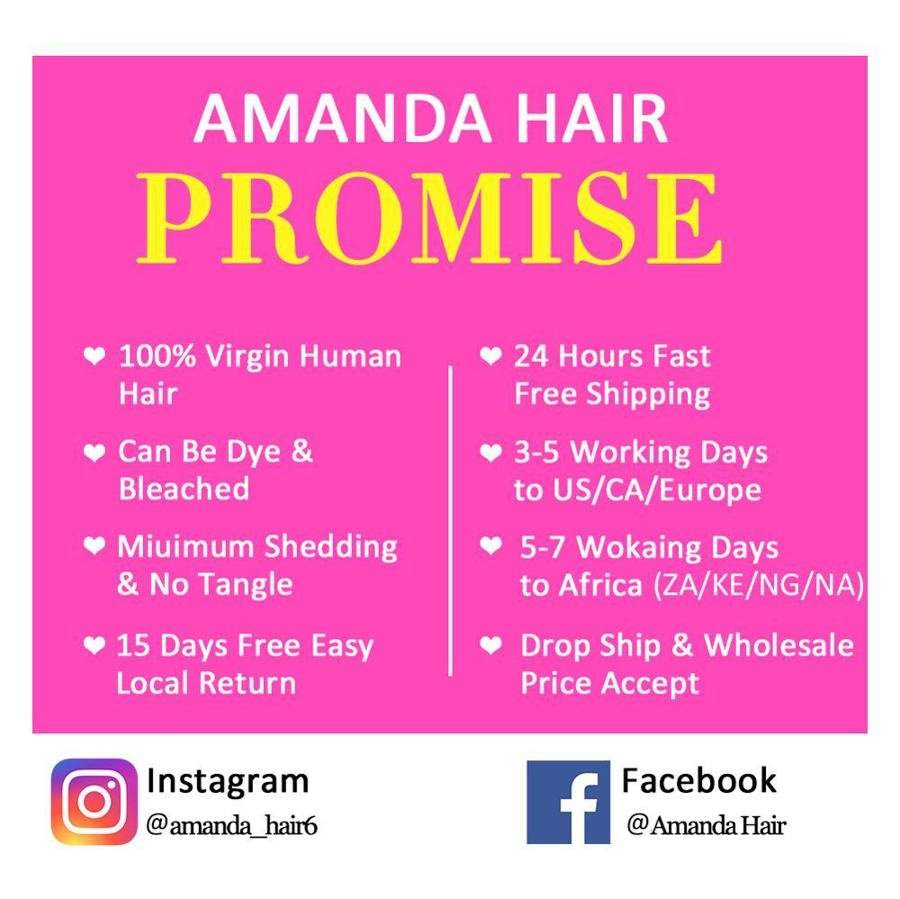 Amanda Egg Curl Funmi Hair Double Drawn  Bundles with Closure  Virgin  Bundles with Closure 6