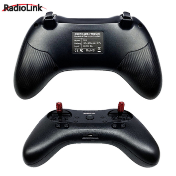 Radiolink T8S 8CH Mini RC Transmitter and R8FM Mini Receiver 2.4G Radio Handle Gamepad Controller for Fixed Wing/Drone/Car/Boat 3