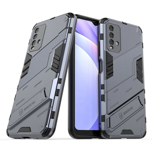 Schokbestendig Case Hybrid Armor Bumper Cool Punk Houder Voor Xiaomi Redmi 9 T Case Redmi Note 9 T 5G premium Cover Redmi 9 T T9