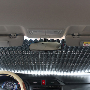 Image 4 - Car Sun Shade Auto Window Shield Universal Front Windshield Sunshade Rear Window Sun Visor UV Protect Sun Protection Accessories