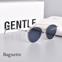 fashion Luxury Brand GENTLE sunglasses metal frame glasses Baguette Polarized