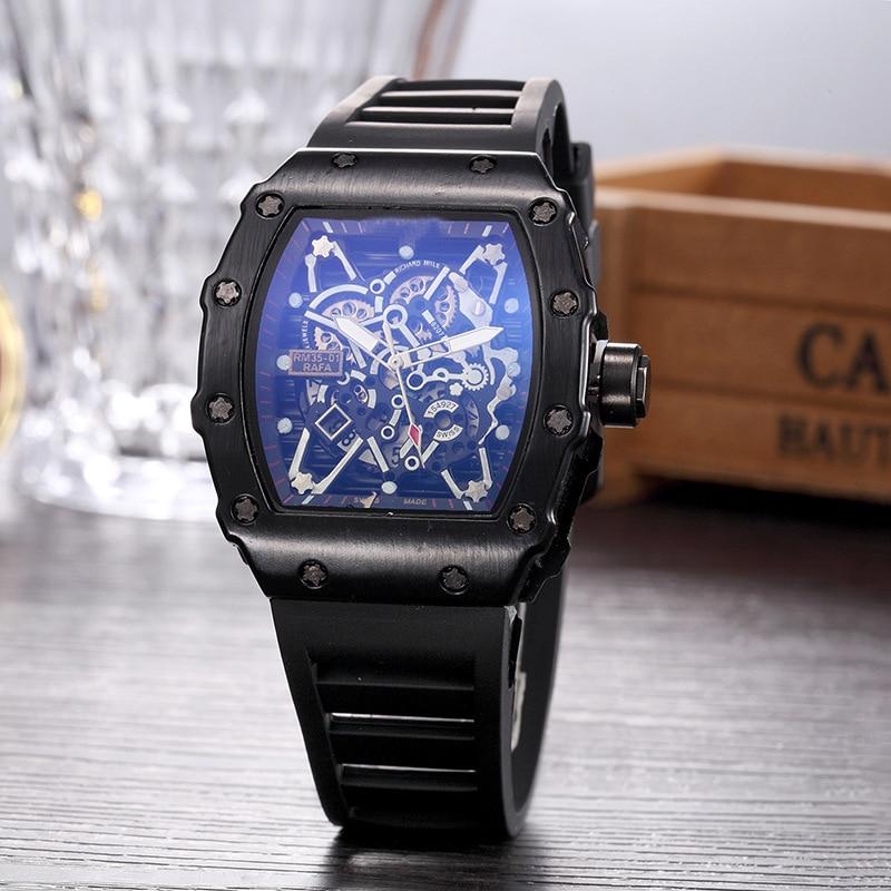 Big  Man Rose DZ Digite   S Watch Rlo  Dz Auto Date Week Display  Luminous Diver Watches  Stainless Steel Wrist Gift Male Clock
