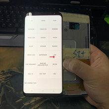 Orijinal S8 artı Samsung Galaxy S8 artı ekran ekran dokunmatik Digitizer ile kusur samsung S8 artı G955 g955F LCD