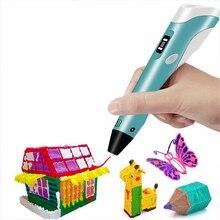 3D Printer Pen 3D Color Picker Pen 83 Sets Consume Material Electronic Photo Album Scissors and Fingerstall set(3PCS)