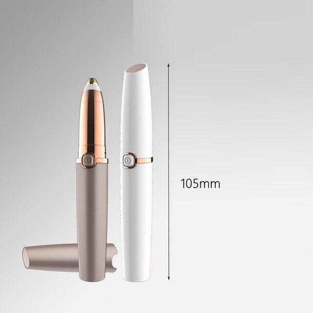 New  Electric Eyebrow Trimmer Lipstick Brows Pen Hair Remover Painless Eye Brow Razor Epilator Eyebrow Epilator 5
