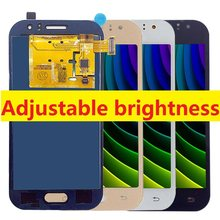 For Samsung Galaxy J1 Ace LCD Display Touch Screen Digitizer J111F J111H J111FN J111F/DS J111M/DS Adjust Brightness 4.3''(China)