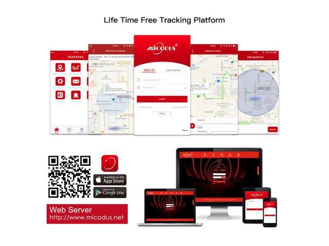 Relay GPS Tracker Car GPS Locator Cut Off Oil Fuel Hidden Design GSM GPS Google Maps Real-time Car Tracker Shock Alarm Free APP 6