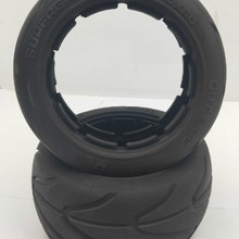 Передние и задние колеса на дороге лысые шины и шины кожи для 1/5 HPI Rovan KM MADMAX Baja 5B Rc автозапчасти