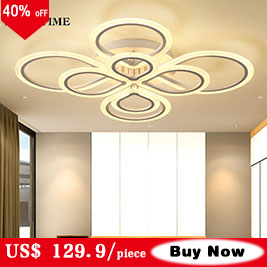 Hedadd422d3674ad994577ab7ec3706838 Modern LED Ceiling Light Black&White Chandeliers Ceiling Lamp LED Light Fixtures Living room Bedroom Dining room Kitchen Lustres