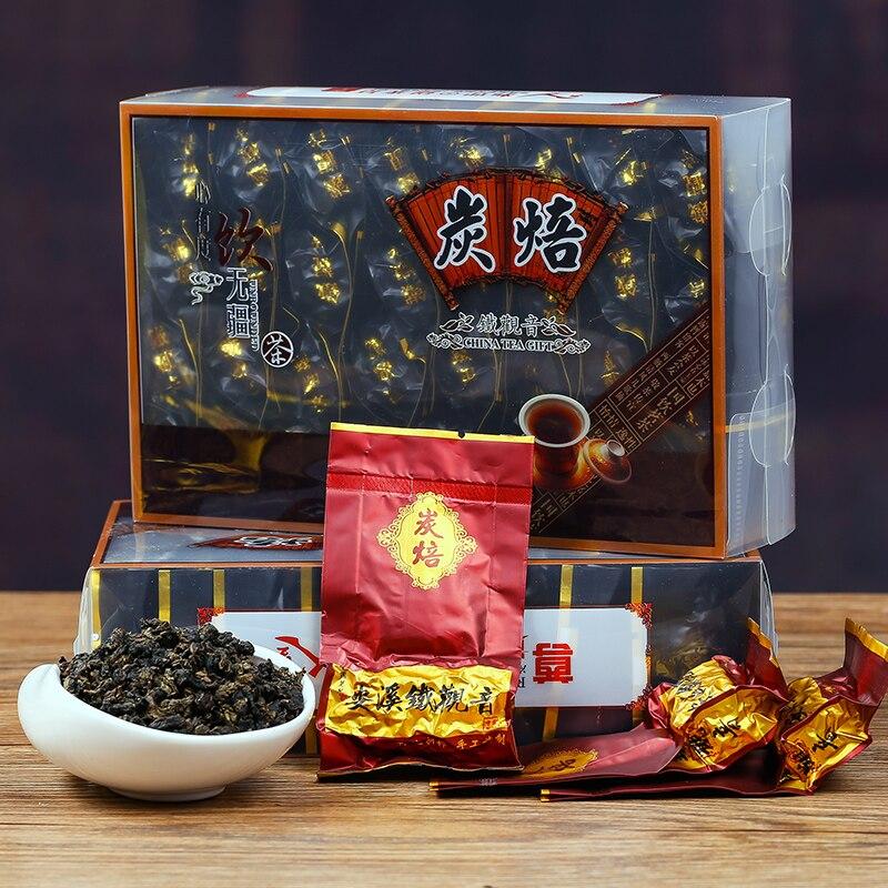 Высокосортный углеродистой запеченный чай Tieguanyin Улун органический чай зеленая еда 250g500g1000g