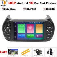 """7 """"PX5 DSP 4 + 64G Android 10 Auto Radio Auto Multimedia-player GPS DVD Für FIAT Fiorino Qubo citroen Nemo Peugeot Bipper autoradio"""