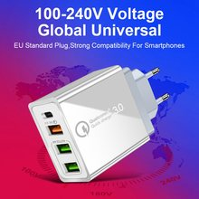 36 Вт usb quick charge 30 pd type c зарядное устройство адаптер