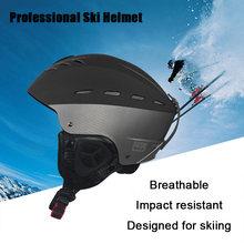 Зимний лыжный шлем унисекс для мужчин и женщин скейтборд сноуборд