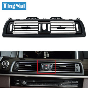 High-end Model Front Central Air Conditioning Chromed AC Vent Grille Outlet ForBMW 5 Series F10 F11 F18 520i 523i 525i 528i 535i