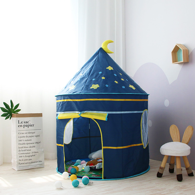 Children's Tent Kids Tent Indoor Outdoor Play House Portable Princess Castle Baby Play Tent For Children Birthday Christmas Gift
