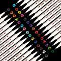Набор маркеров-металлик, 30 цветов, тонкие металлические маркеры для черной бумаги, художественная живопись роком, сделай сам, товары для рук...