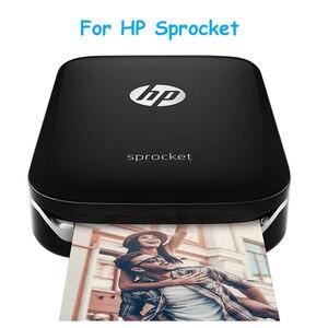 Image 2 - 50 arkuszy/pudło papier fotograficzny Zink 5*7.6cm (2x3 cale) do drukarek fotograficznych HP Sprocket bez tuszu przenośny druk samoprzylepny