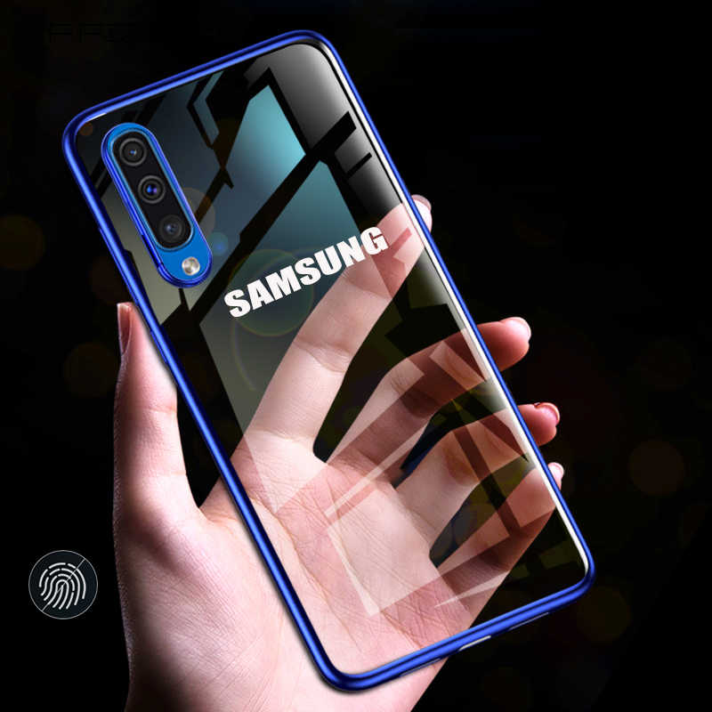 Gevallen Voor Samsung Galaxy A30 A50 A10 A20 A70 M20 A40 A20e A50s S20 S10 S8 S9 Plus Note 10 a7 A8 Plating Tpu Soft Silicone Cover