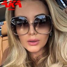 RBROVO-gafas De Sol ovaladas para mujer y hombre, anteojos De Sol femeninos De marca De lujo, Estilo Vintage, 2021