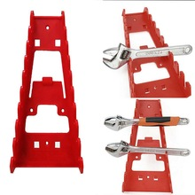 Tool-Organizer Wrench Tray-Rack Sorter-Holder Socket-Tool Wall-Mounted Plastic Spanner