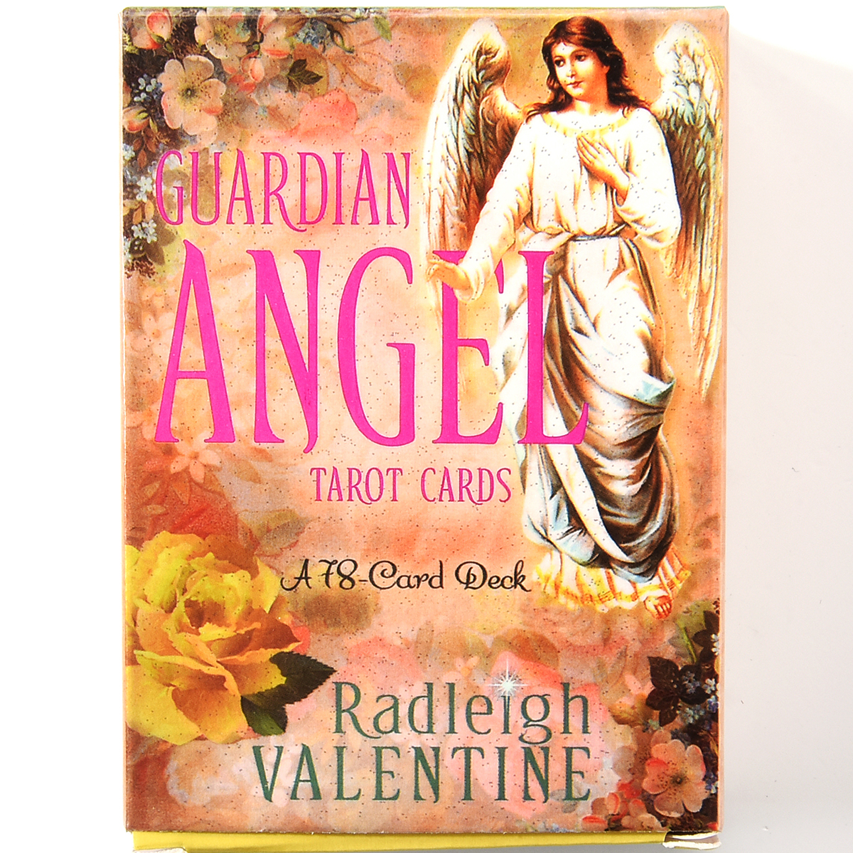 Guardian Angel Tarot Cards A 78-Card Deck And ElectronicGuidebook Cards Game Toy Board Games