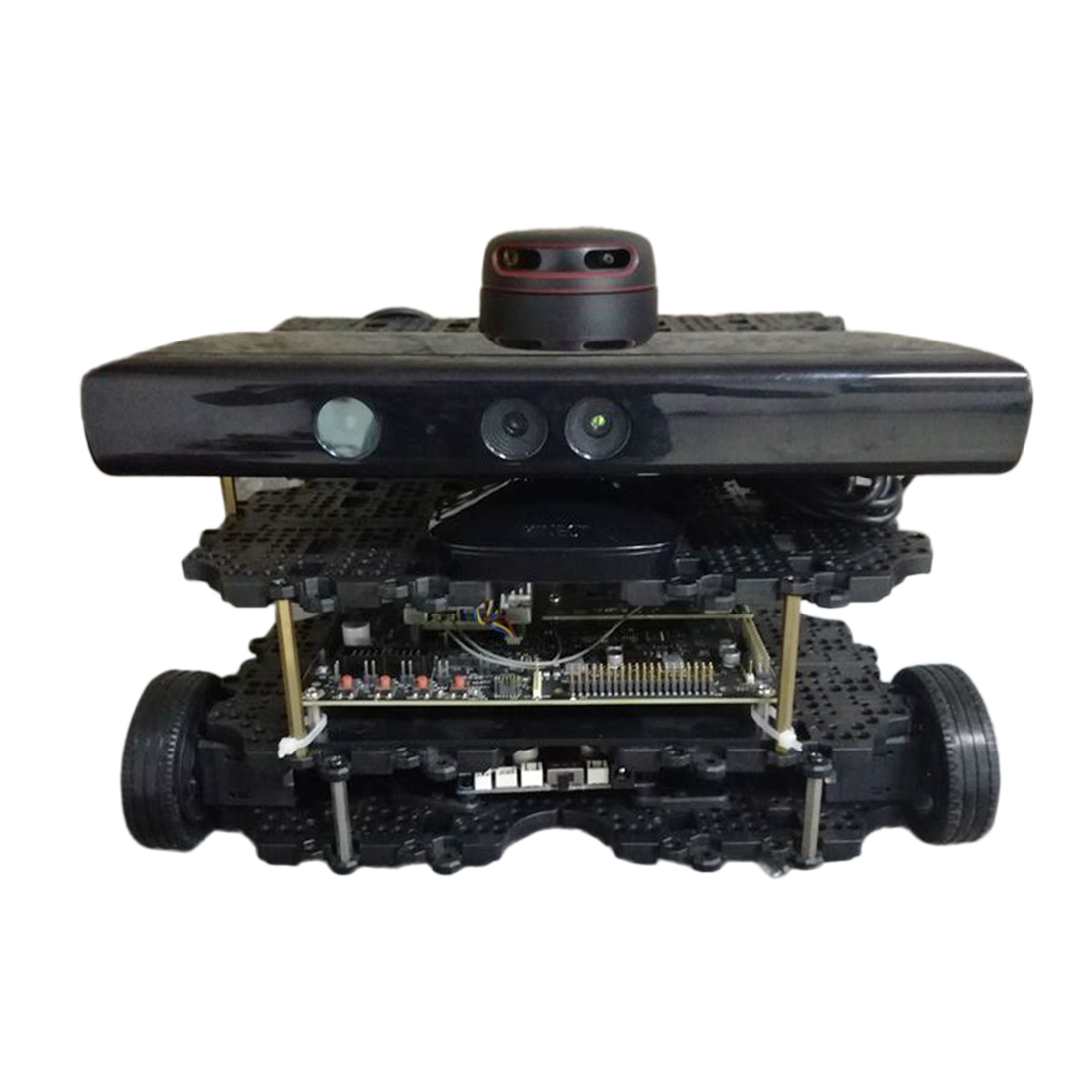 Waffle Version Robot Operating System Autopilot Robot Car Open Source Kit For Children Kids Developmental Early Educational Toys