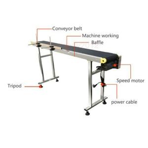 Image 4 - Speed Adjustable Automatic Conveyor belt for inkjet printer laser engraving machine for coding, LOGO 110 240V AC