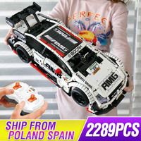 Technic Remote Control Benzs MOC 6687 RC Car Model Kit Building Blocks Bricks Compatible legoing AMG C63 Toys For Children Gifts
