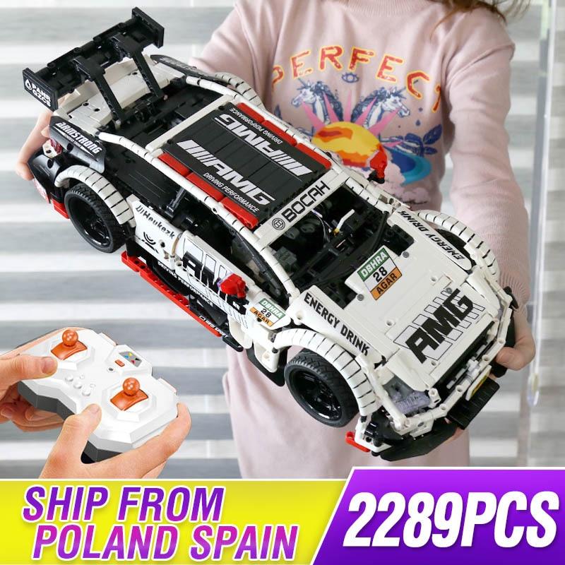 >Technic Remote Control Benzs MOC 6687 RC <font><b>Car</b></font> Model Kit Building Blocks Bricks Compatible <font><b>legoing</b></font> AMG C63 Toys For Children Gifts