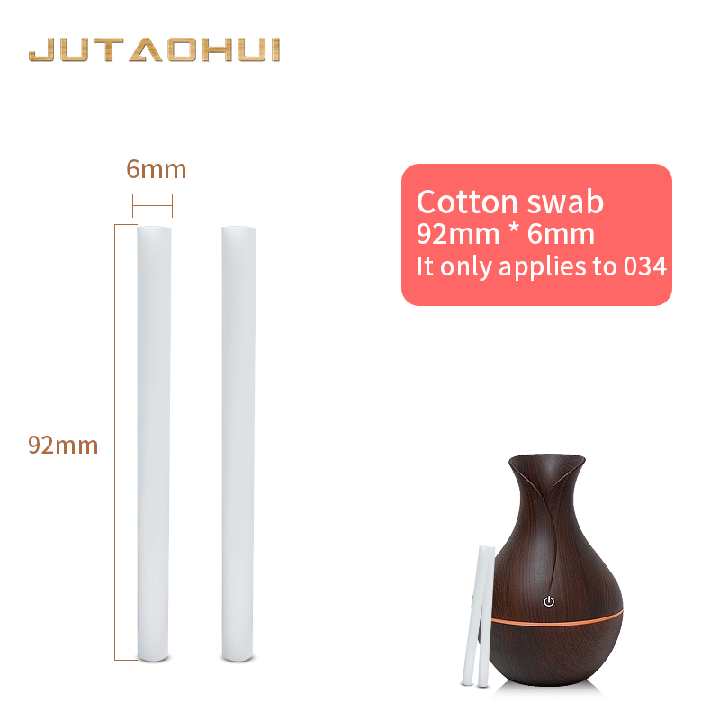 Free Shipping 5pcs 92mm*6mm Humidifiers Filters Cotton Swab For USB Air Ultrasonic Humidifier