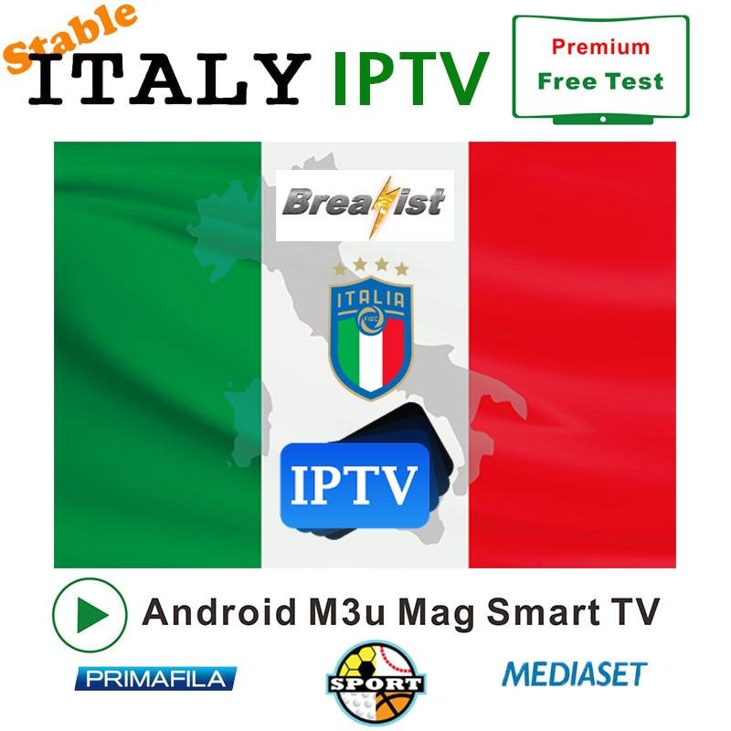 IPTV Italy M3u Support Android TV Box 2000+ VOD For Spainish Germeny Italy France UK Subscription Mediaset Premium Italy Iptv