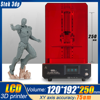 Tianfour x-cube light curing UV resin SLA /LCD/DLP 3D printer 2k with high precision for jewelry dentistry precision parts